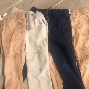 4 pairs of boys pants